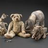 Piglet, Kanga, Winnie-the-Pooh, Eeyore and Tigger.