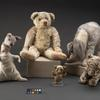 Kanga, Winnie-the-Pooh, Piglet,  Eeyore and Tigger.
