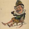 Caricature of Lionel Brough.