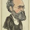 Caricature of Robert Buchanan.