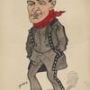 Caricature of Albert Chevalier.