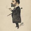 Caricature of George Nolen.
