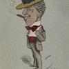 Caricature of William Sidney Penley.