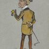Caricature of Henry Pettitt.