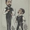 Caricature of Roberts and Peall.