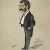 Caricature of Arthur Sullivan.