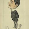 Caricature of John Hare.