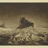 M.M.Beringov. Ledianoi pokhod Baltflota iz Gel'singforsa v Kronshtadt. Mart-aprel' 1918g.