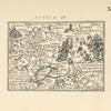 Karta Rossii Dzhenkinsona iz atlasa Spieghel der Werelt P.Geinsa, Antverpen, 1853g. Tekst str.10