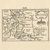 Karta Rossii Dzhenkinsona iz atlasa izd. B.Langensom v Amsterdame v 1598g. Tekst str.10