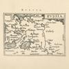 Karta Rossii Dzhenkinsona iz Epitome Theatri Orteliani, Antverpiae, 1601. Tekst str.11