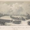 Kavalergardiia v tseremoniale shestviia Imperatritsy Ekateriny I, v den' Kreshchenskago parada , 6 Ianvaria 1727 goda