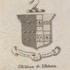 Bookplate of William Greenleaf Webster