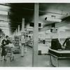 Photo showing inside of commissary