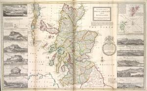 The north part of Great Britain called Scotland.