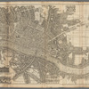 London surveyed or a new map of the cities of London and Westminster and the borough of Southwark...