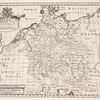 A new map of Germany, shewing its principal divisions, cities, towns, rivers, mountains &c.