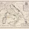 A new map of ancient Italy, together with the adjoyning islands of Sicily, Sardinia, and Corsica, shewing their principal divisions, cities, towns, rivers, mountains &c.