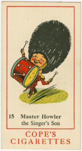 Master Howler, the singer's son.