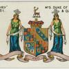 Duke of Bucchleuch and Queensbury.