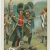 Sir Charles Russell, Bart. Brevet Major, Grenedier Guards, recapturing the Sandbag Battery at the Battle of Inkerman, Nov. 5th, 1854 (Crimean War).