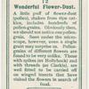 Wonderful flower-dust.