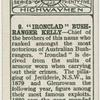 """Ironclad"" Bushranger Kelly."