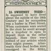 Sweeney Todd.