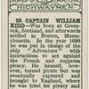 Captain William Kidd.