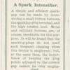 A spark intensifier.