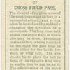 Cross field pass.