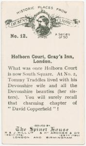 Holborn Court, Gray's Inn, London.