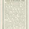 arrest of Strafford, 1640.