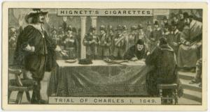 Trial of Charles I, 1649.