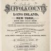 Atlas of a part of Suffolk County, Long Island, New York. South Side - Ocean Shore Complete in two Volumes….[Title page]