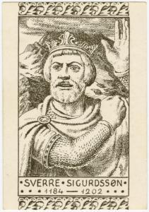 Sverre Sigurdssøn, 1184-1202.