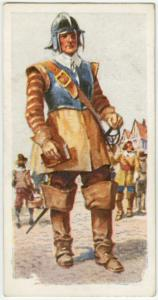 A soldier of Cromwell's Army.