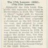 17th Lancers (1832).  17th/21st Lancers.