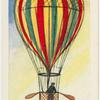 Le premier vol en ballon en Angleterre.