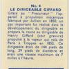 Le Dirigeable Giffard.