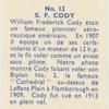 S.F. Cody.