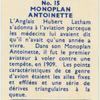 Monoplan Antoinette.