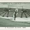 A Pilcher glider, 1895.