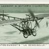 """Santos-Dumont's """"La Demoiselle,"""" 1908."""