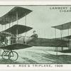 A.V. Roe's triplane, 1909.