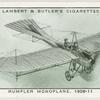 Rumpler monoplane, 1909-11.