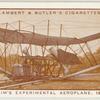Maxim's experimental aeroplane, 1894.