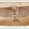 A Lillienthal glider, 1895.