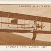 Chanute type glider, 1897.