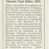 Chanute type glider, 1897.
